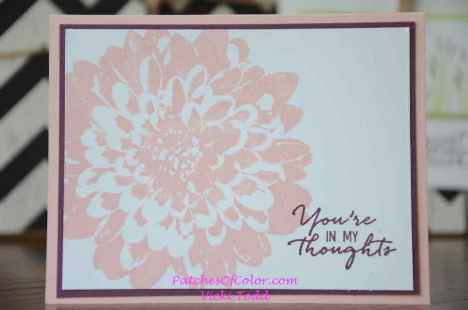 Powder Pink Dahlia