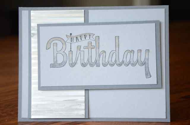 Masculine Birthday